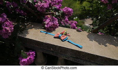 toy butterfly tie