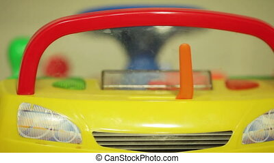 Toy Car - Baby is played children's toy cars