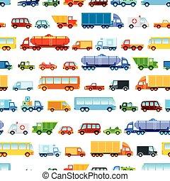 Toy car pattern