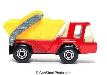 Toy car Skip Truck