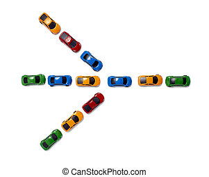toy cars traffic transportation