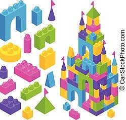 Toy Constructor Isometric Blocks