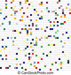 toy cubes pattern - 3d texture of white constrcuting cubes...