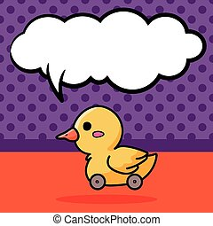toy duck doodle