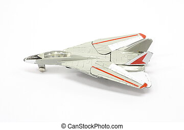 Toy fighter plane