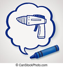 toy gun doodle