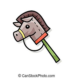 Toy horse doodle
