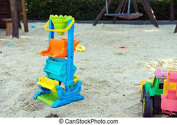 sandbox - Toy in a sandbox