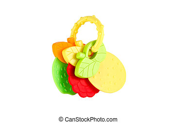 toy isolated with clipping path on white background