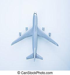 Toy jet plane.