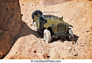 toy military car
