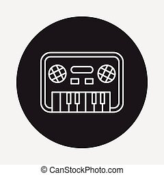 toy musical instrument icon