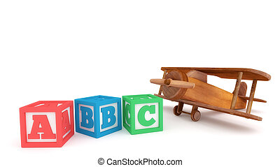 Toy Plane and Learning Blocks