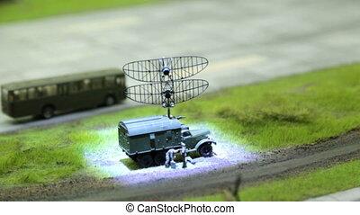 toy radar station