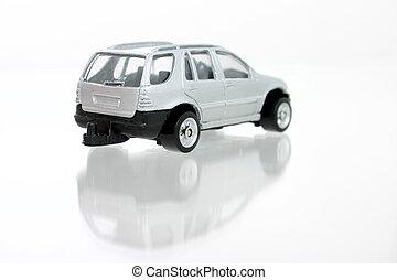 Toy Silver Car