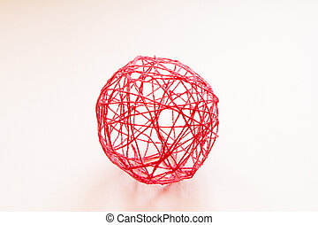 Toy skein of thread