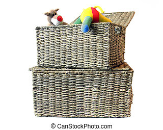 Toy storage box 1 - storage box to put toys in