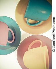 Toy teacups
