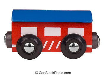 Toy train car