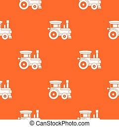 Toy train pattern seamless