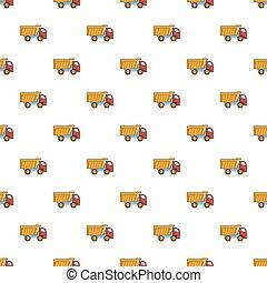 Toy truck pattern
