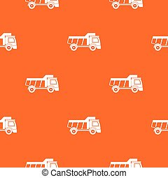 Toy truck pattern seamless