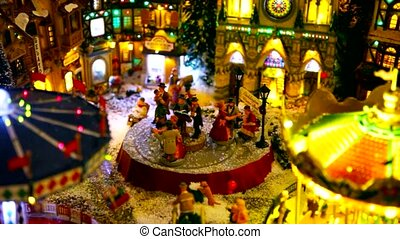 toy village - Christmas toy village