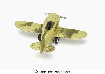 Toy warplane