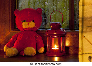 toy with lamp