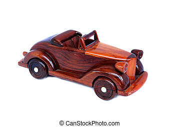 TOY WOODEN CAR