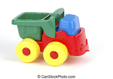 toyen åker lastbil
