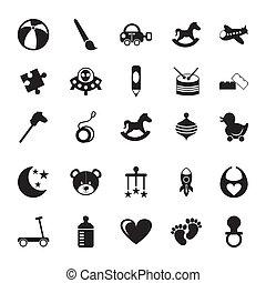 Toys design over white background, vector illustration