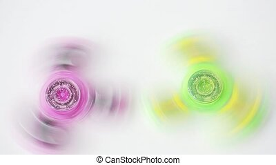 spinning fidget spinners - toys, entertainment and motion -...
