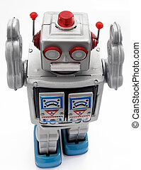 toys - retro robot toy