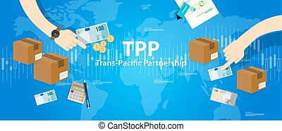 TPP Trans Pacific Partnership Agreement free market trade ...