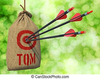 TQM - Arrows Hit in Red Target.