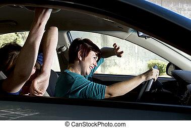 tráfego, colisão