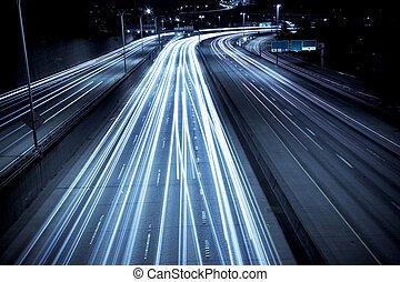 tráfego hora rush