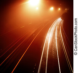 tráfego, rodovia