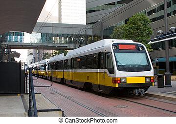 tránsito, (1, masa, train)