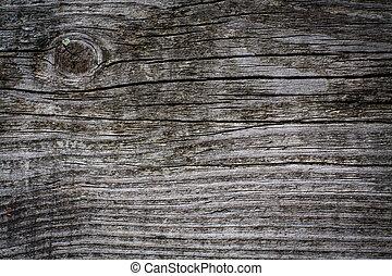 trä, bakgrund., gammal, plankor