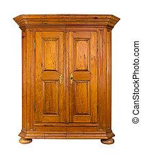 trä, barock, kabinett