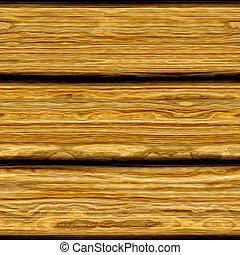 trä, gammal, sarg, struktur
