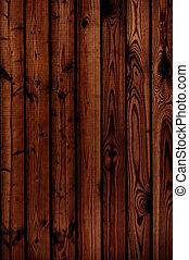 trä, -, gammal, sarg, struktur