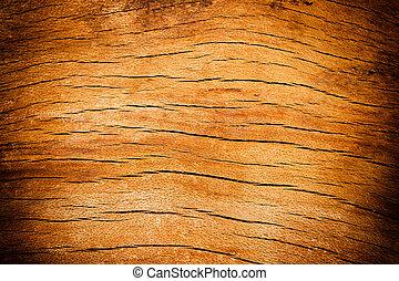 trä, gammal, struktur, skrivbord