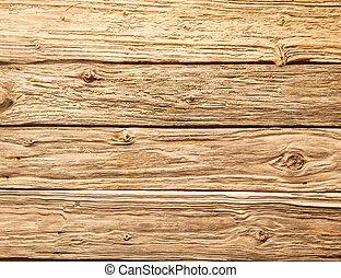 trä, grov, plankor, strukturerad