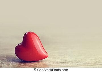 trä, hjärta, bakgrund.