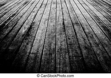 trä plankor, golv