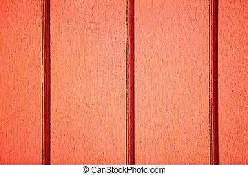 trä vägg, struktur, bakgrund, apelsin