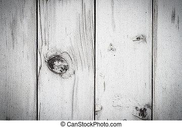 trä, vit fond